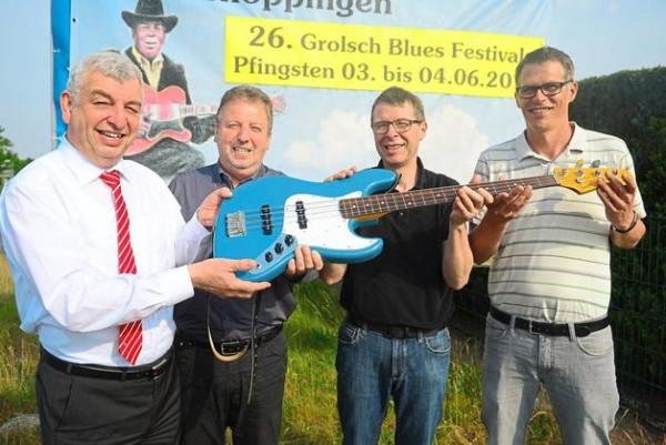 Geldsegen rechtzeitig vor dem Blues Festival am Pfingstwochenende