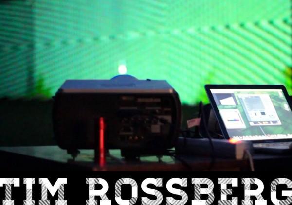 Lichtinstallationen auf dem Kulturschock von Tim Roßberg