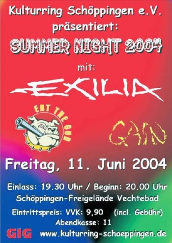 11.06.2004 - Hot Summernight 2