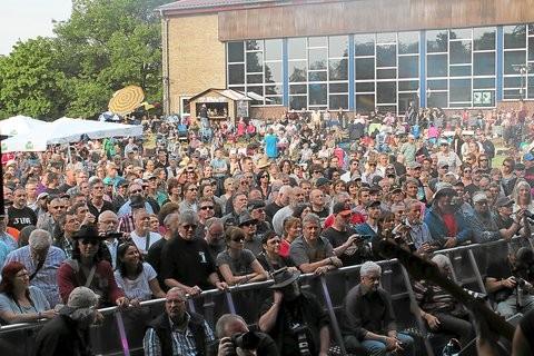 Auch der zweite Tag des Festivals war gut besucht. Foto: (Frank Zimmermann)